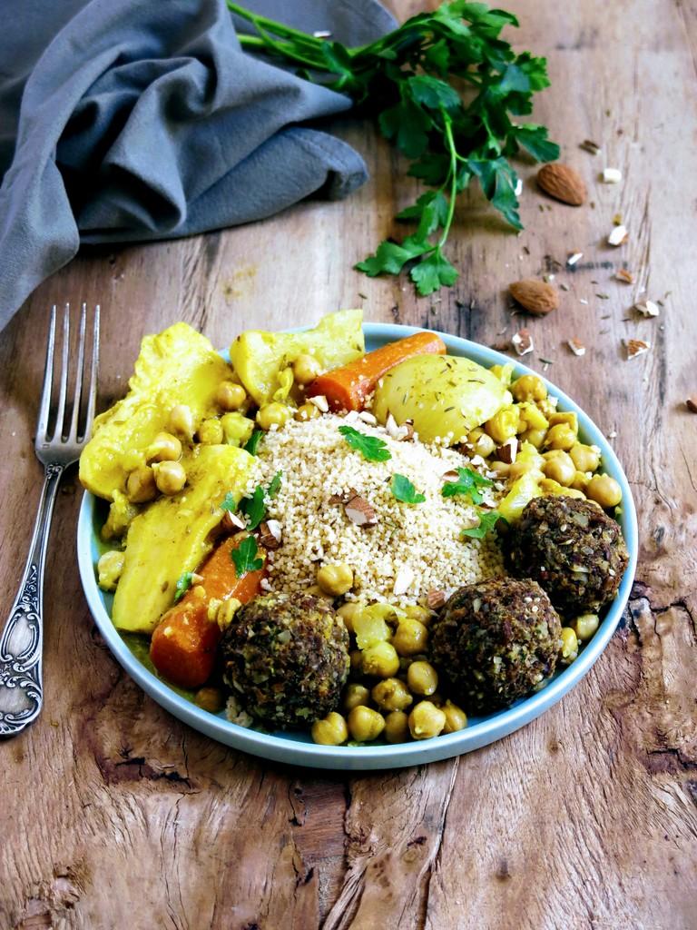 boulettes pour couscous végétarien